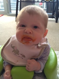 Suzianne enjoys her carrots. Thoroughly.