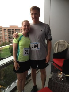 Crystal City Twilighter 5k, July 21, 2012